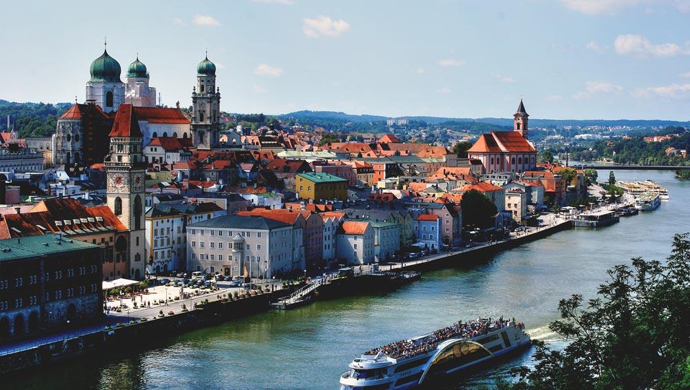 JGA feiern in Passau